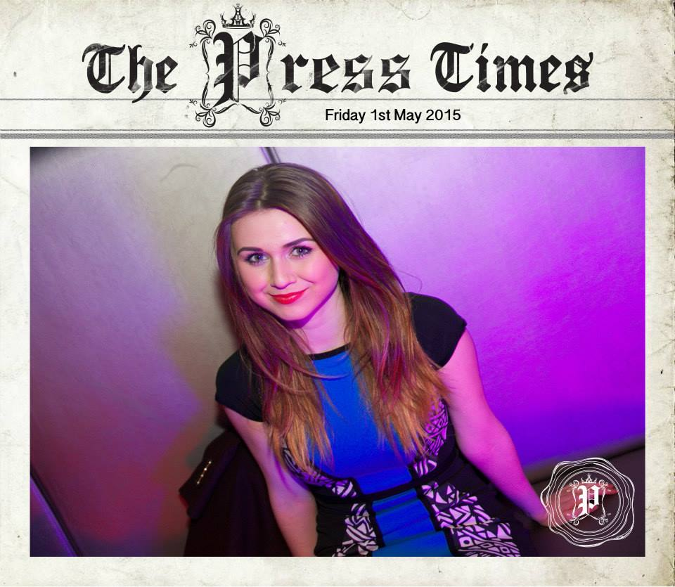 PRESS FRIDAYS: 1ST MAY 2015