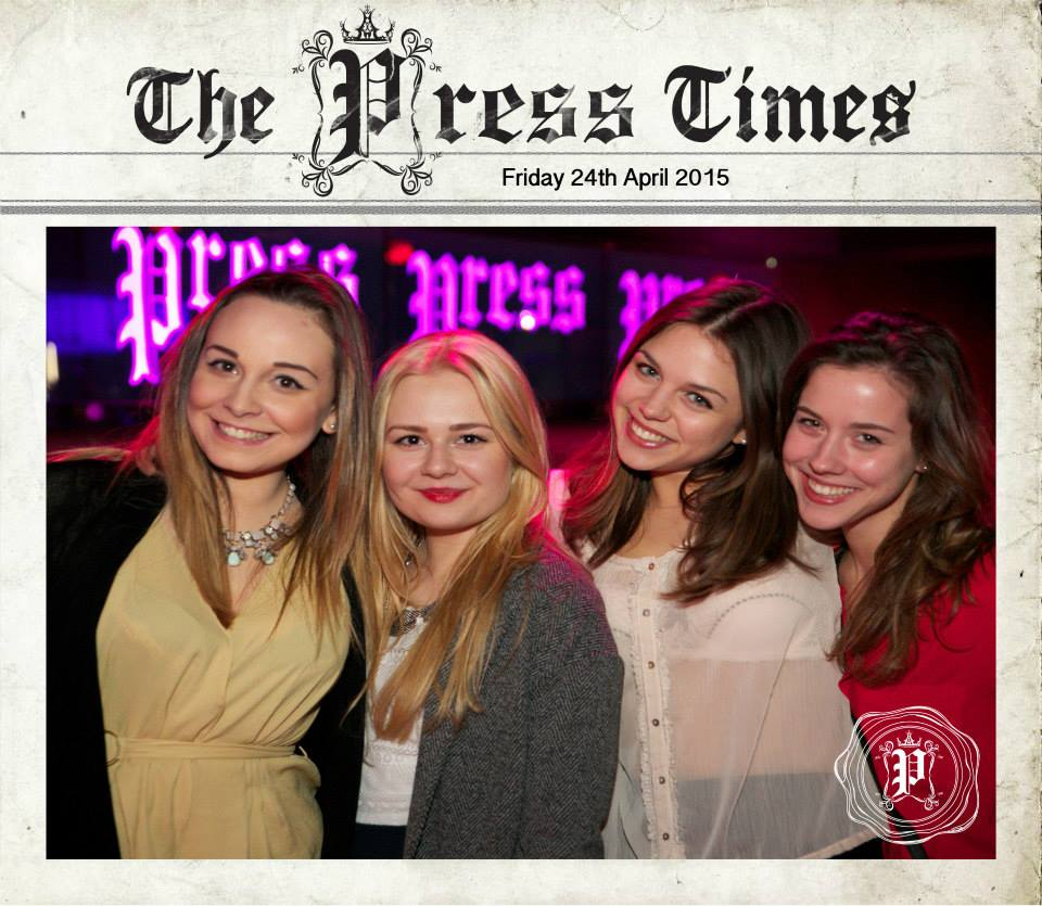 PRESS FRIDAYS: 24TH APRIL 2015